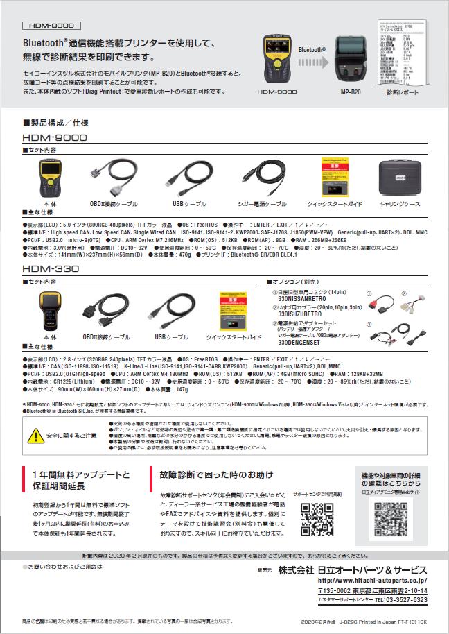 スキャンツールHDM-9000_04
